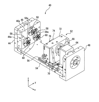 Workpiece clamping device, and processing system having workpiece clamping device