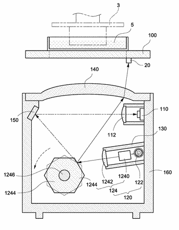 Three-dimensional object generating apparatus and method for calibrating thereof