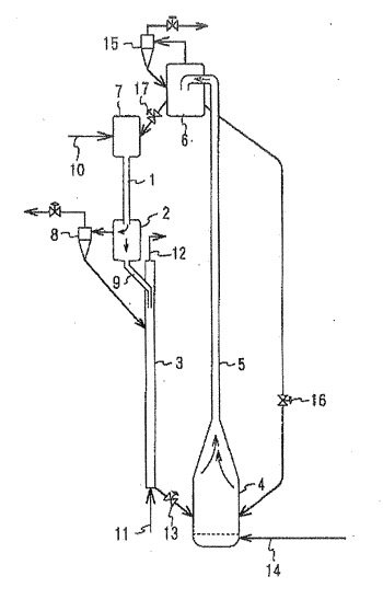 Process for fluid catalytic cracking of heavy oil