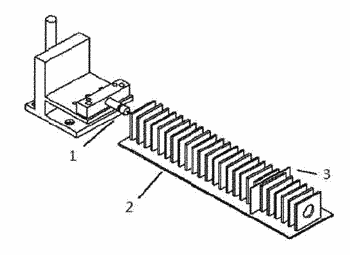 Method for tracing distribution of moving ions in ion mobility spectrometer