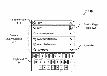 Accelerating find in page queries within a web browser