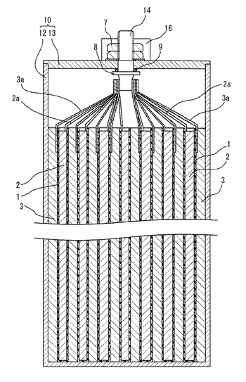 Positive electrode for sodium ion secondary battery and sodium ion secondary battery