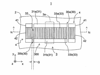 Acoustic wave element, filter element, and communication device