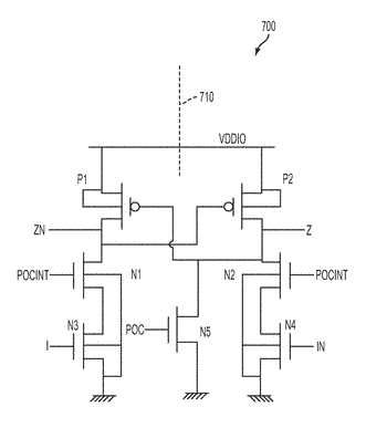 Voltage level shifting circuits and methods
