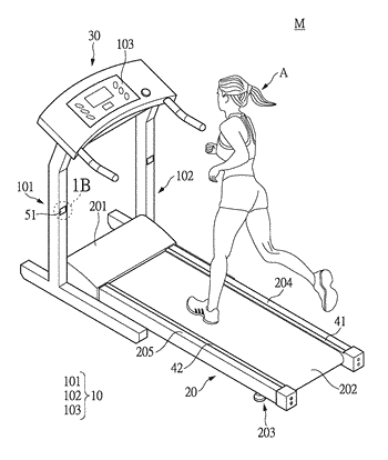 Treadmill and control method for controlling the treadmill belt thereof