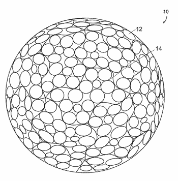 Dimple patterns for golf balls