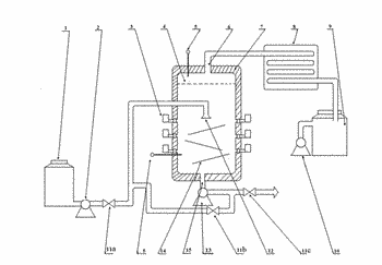 Microwave flash evaporation process and apparatus and use thereof