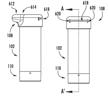 Device for storing and dispensing food items