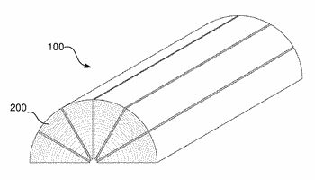 A gluelam structural member and a method of producing such a gluelam structural member