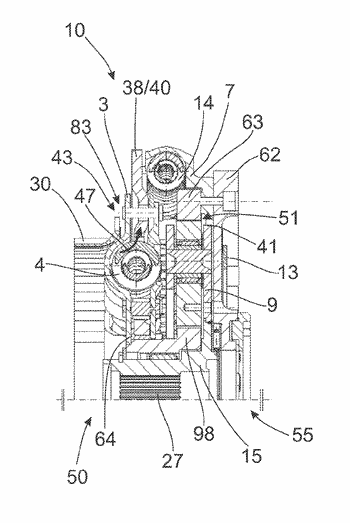 Assembly concept for a torsional vibration damping arrangement for the powertrain of a vehicle