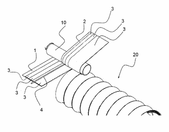 Flexible ventilation duct and a related production method