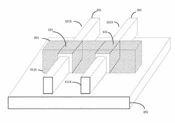 Finfet devices having a material formed on reduced source/drain region