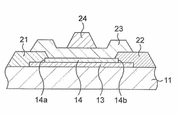 Electronic device, stacked structure, and manufacturing method of the same
