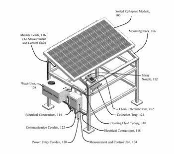 Soiling measurement system for photovoltaic arrays