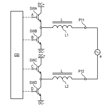Electric power converter and power amplifier