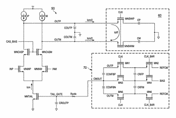 Telescopic amplifier with improved common mode settling