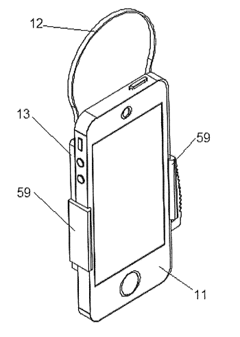 Hanger for an electronic device
