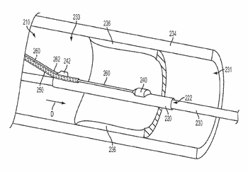 Physiological sensor delivery device and method