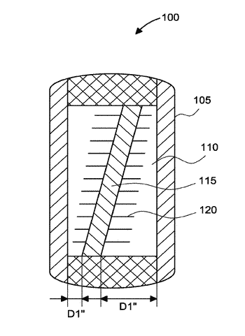 Implantable cell device with supportive and radial diffusive scaffolding