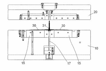 Injection mold and device for preparation of light guide plate