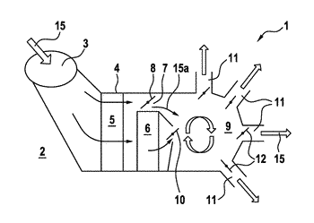 Air conditioning system of a motor vehicle