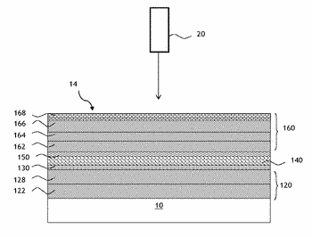 Substrate provided with a stack having thermal properties and a metallic terminal layer