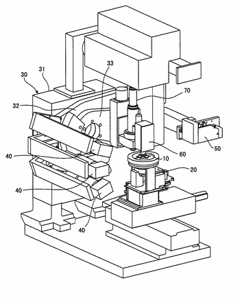 X-ray thin film inspection device