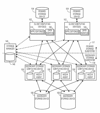 Data protection operations based on network path information