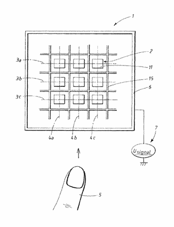 Fingerprint detection circuit, sensor and touch screen