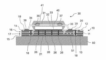 Method for manufacturing a circuit carrier and circuit carrier for electronic components