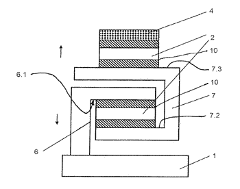 Device for precision displacement
