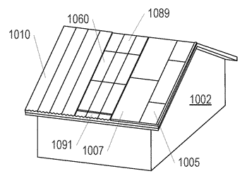 Building integrated photovoltaic roofing assemblies and associated systems and methods