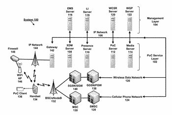 Method for multiplexing media streams to optimize network resource usage for push-to-talk-over-cellular service