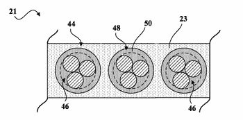 Reinforced product comprising a composition containing a rapid vulcanization accelerator and tire comprising said reinforced ...