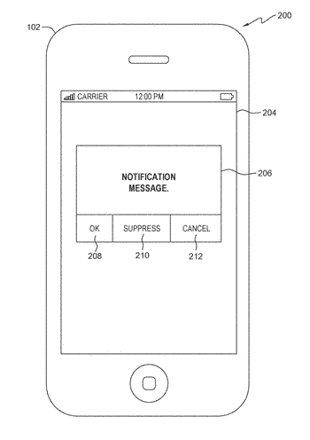 Managing push notifications on portable devices