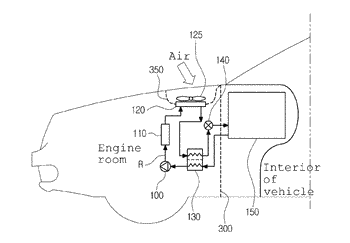 Air conditioner system for vehicle