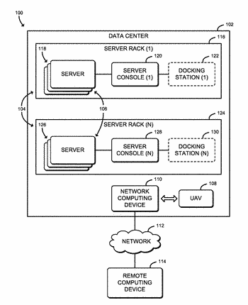 Technologies for managing data center assets using unmanned aerial vehicles