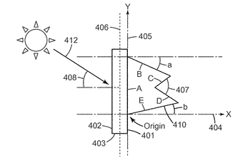 Room-facing light redirecting films with reduced glare