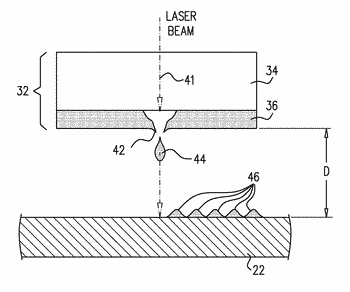 Lift printing of conductive traces onto a semiconductor substrate
