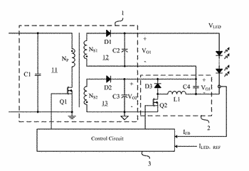 Dimming circuit, control circuit and dimming method