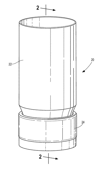 Device for receiving condensation