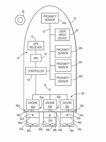 Marine vessel station keeping systems and methods