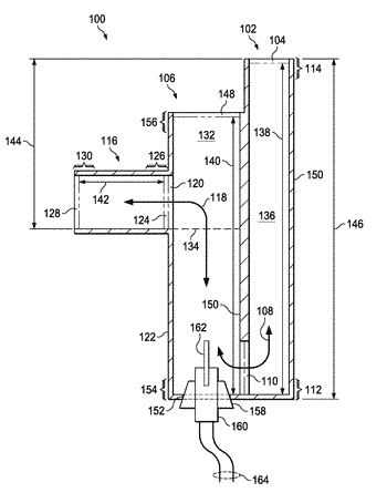 Condensate trap for heating-cooling systems