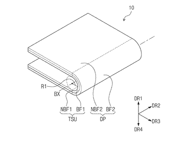 Foldable display device and method for fabricating the same