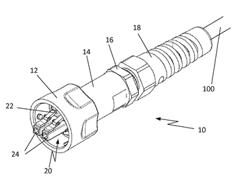 Optical fiber connector assembly