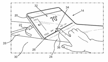 Method for operating a display, display device for a motor vehicle, and motor vehicle having ...