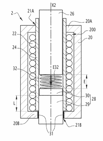 Electromagnetic actuator and circuit breaker comprising such an actuator