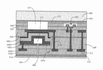 Thin-film bulk acoustic resonator, semiconductor apparatus comprising of such an acoustic resonator, and manufacture thereof