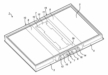 Display system with a flexible display
