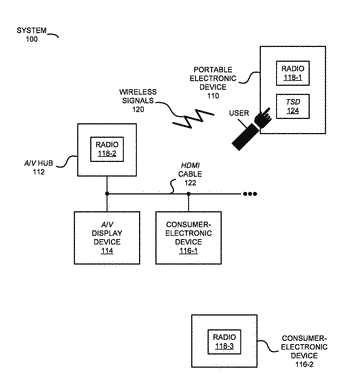 Determining device state using state-detection circuit